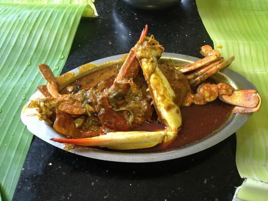 "Karaikudi, Inde : ""Nandu"" Chettinad curry style"
