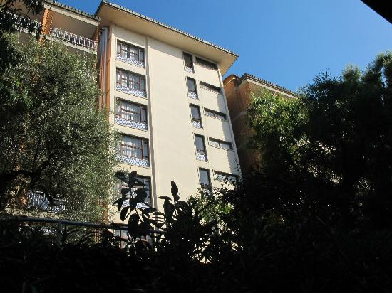 Cesare Augusto: backside of hotel