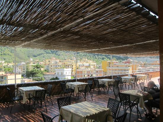 Cesare Augusto: restaurant on roof