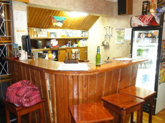 Lungile Backpackers Lodge : Recepcao