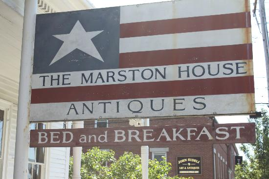 Marston House Wiscasset: The Marston House Bed and Breakfast