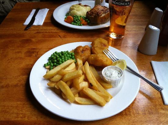 Shakespeare Tavern : Veggie fish & chips!