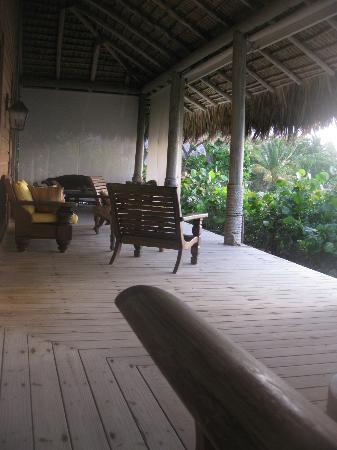 Xeliter Caleton Villas Cap Cana: Porch
