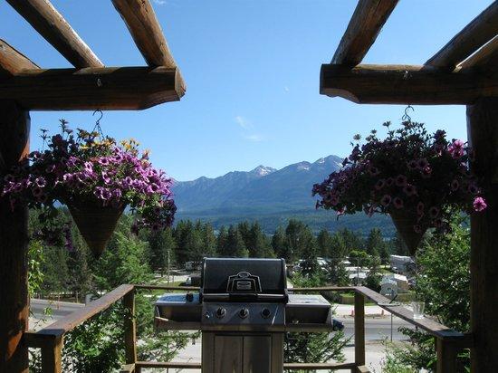 McLaren Lodge Bed & Breakfast: View from the deck