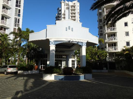 Bel Air on Broadbeach: Front of reception