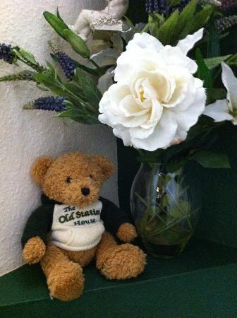 Old Station House Bed & Breakfast: look out for the resident teddy bears