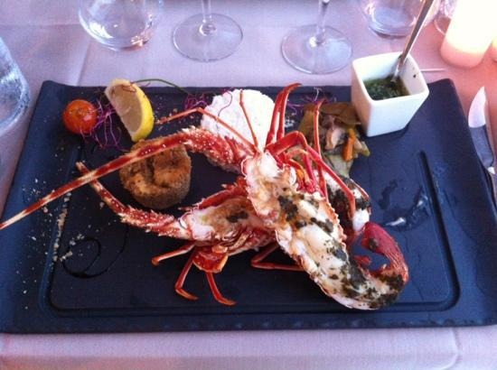 L'Abri Cotier: langouste made in corsica