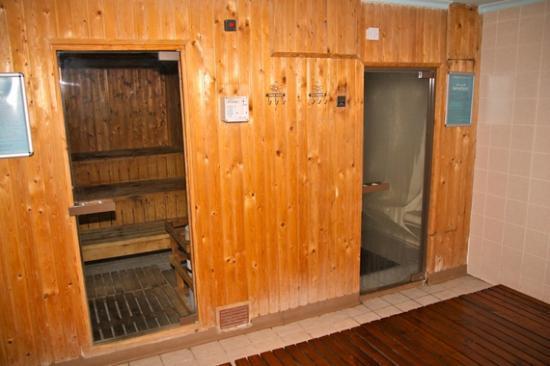Novotel Bahrain Al Dana Resort: Sauna and Steam room
