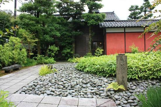 Araya Totoan: Cottage that Rosanjin had lived nearby
