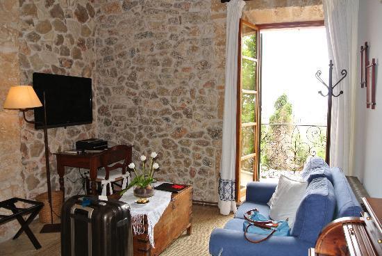 Cas Comte Petit Hotel & Spa: Livingroom