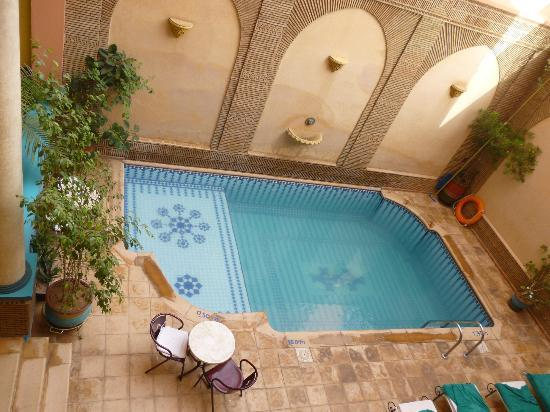 Amani Hotel Appart: Plunge pool