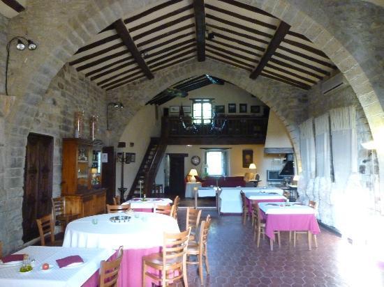 Hotel La Sala de Camos: Dining Room