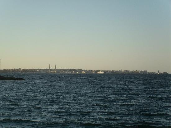 Safir Hotel Hurghada : the view