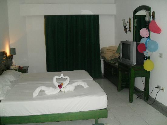 Safir Hotel Hurghada : the room