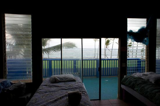 Kauai Beach House: View from the boy's room.