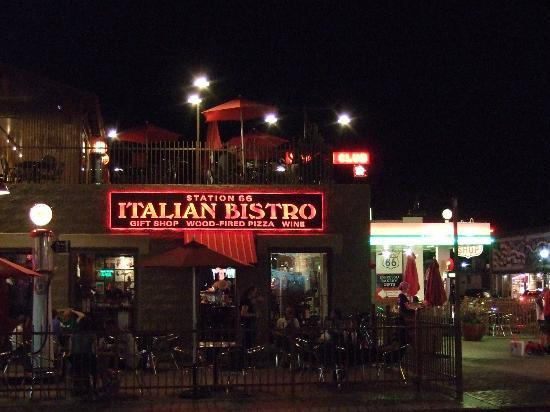 Station 66 Italian Bistro : From across the street.