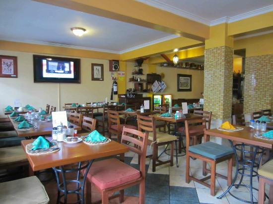 Kenya Comfort Hotel: Breakfast was included in the restaurant