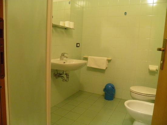 Central Hostel: bathroom