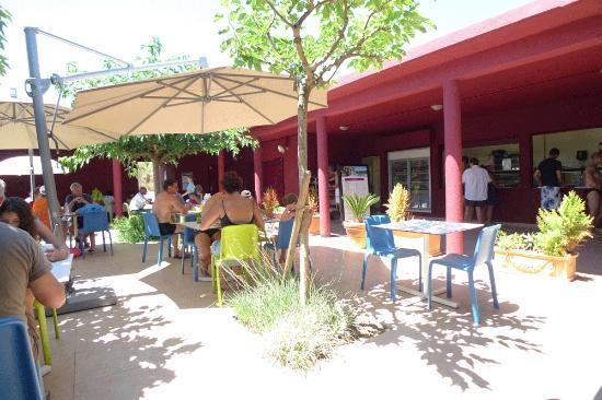 Belambra Clubs - Riviera Beach Club : Strandcafe