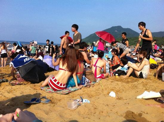 Fulung Beach: 海灘上的比基尼