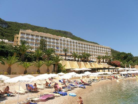 Agios Ioannis Peristeron, Greece: View from beach