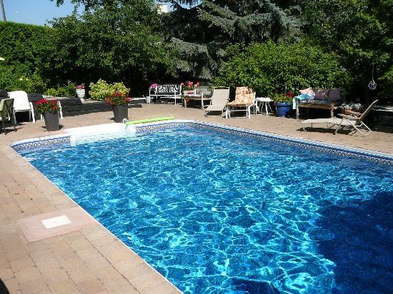 A Touch of English Bed & Breakfast: Refreshing pool