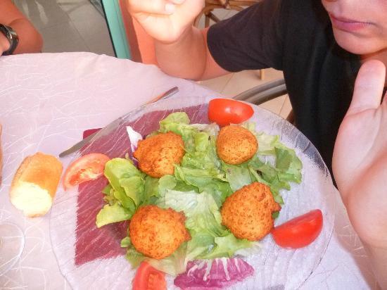 Restaurant A Citadella: Beignets de Fromage Corse