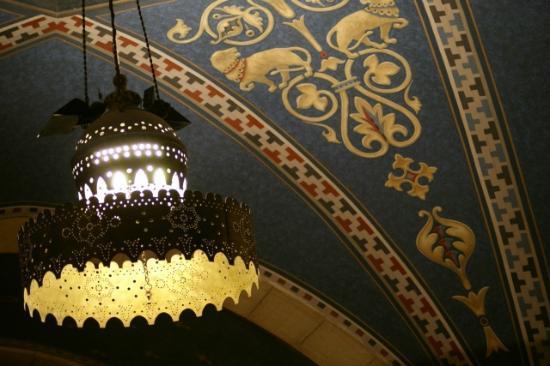 Jerusalem International YMCA, Three Arches Hotel: reception hall