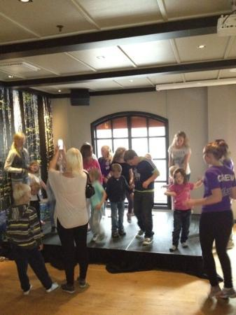 Scandic Hafjell: barne aktivitet