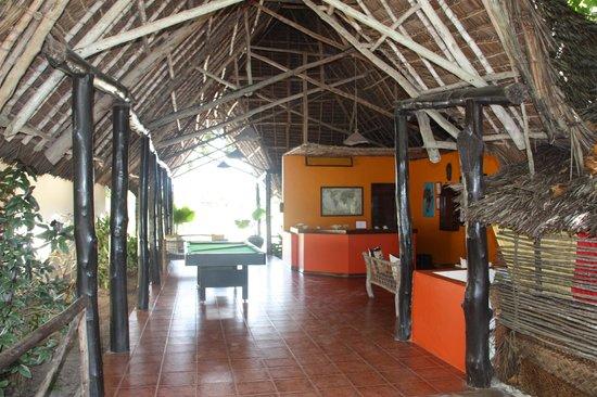 Villa de Coco Resort : Receptie/ pooltafel