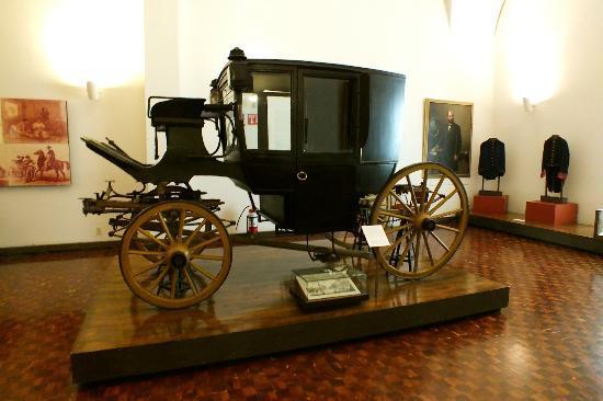 Palacio de Cortes: Carruajes de la Epoca