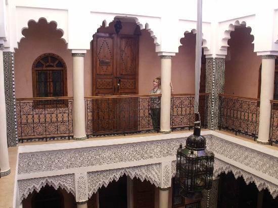 Riad Dar Mimouna Hotel : courtyard