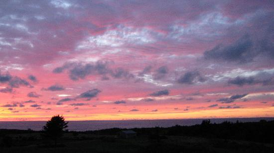 Acres and Ocean Cottages at Ocean Haven: sunset