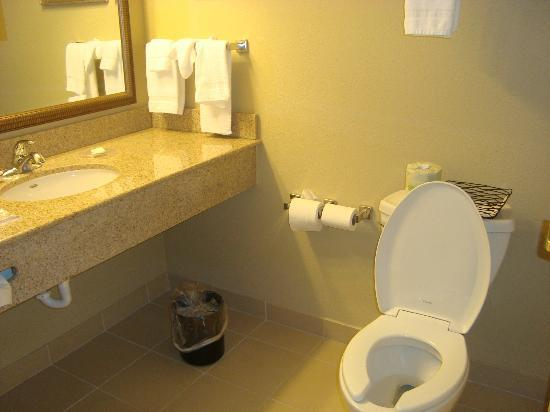 Country Inn & Suites By Carlson, State College (Penn State Area): clean bathroom