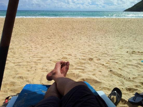 Nai Harn Beach : great place to relax