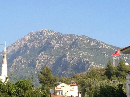 Lagoon Hotel: Beautiful mountain views