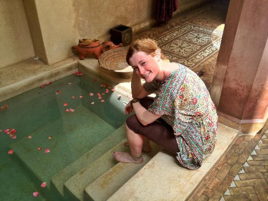 Zamzam Riad: Plunge pool