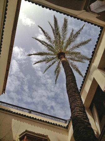 Zamzam Riad: View from the Riad ground floor