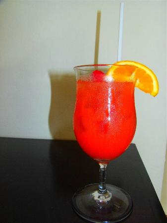 Anacaona Boutique Hotel: Anacaona welcome fruit punch