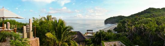 Imanta Resort: A panorama overlooking Banderas Bay, the beach, and the jungle