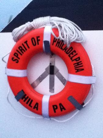 Spirit of Philadelphia: On deck