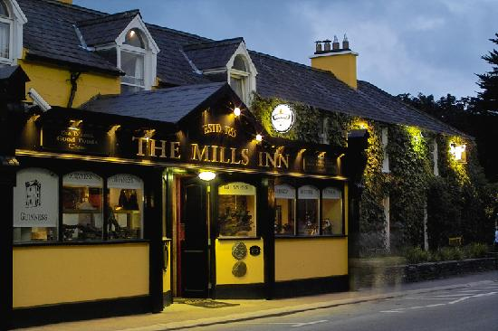 Outside of the Mills Inn