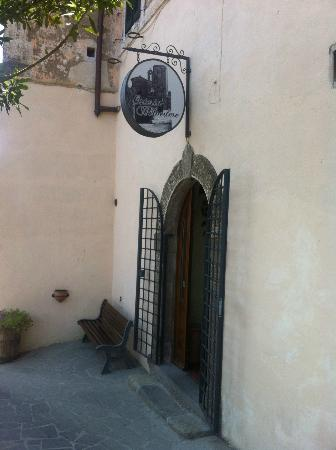 Osteria Belvedere Restaurant: the entrance