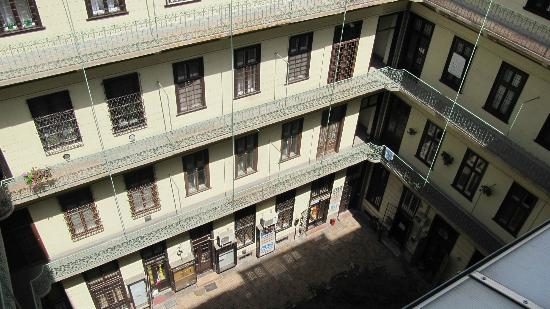Bell Hostel & Apartments: View from veranda
