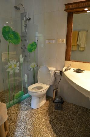White Lotus Yoga & Meditation Centre: beautiful and clean bathromm