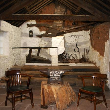 Gretna Green Original Marriage Room