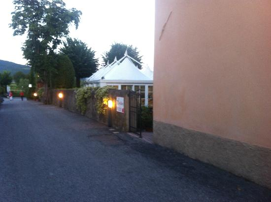 Hotel Villa Cappugi: Restaurant - verranda