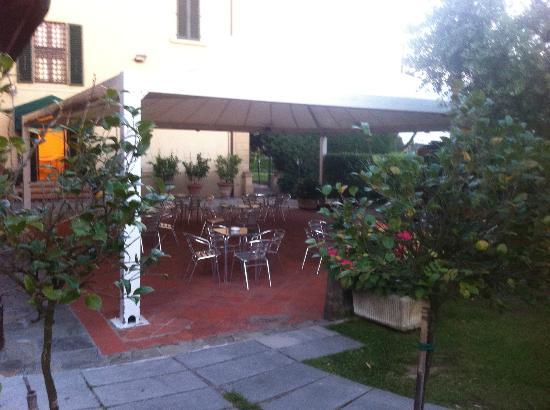 Hotel Villa Cappugi: Hotel Terrace