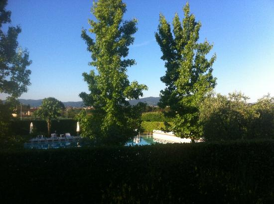 Hotel Villa Cappugi: Swimming pool view from the room