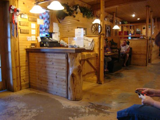 Ables Western Barbeque: As you enter the restaurant